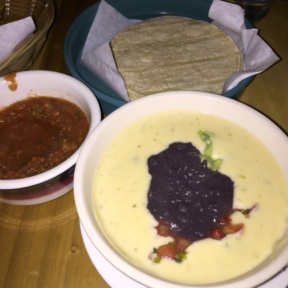 Gluten-free queso from Javelina