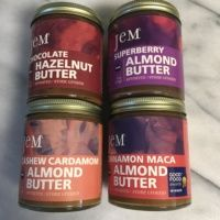 Gluten-free nut butters by Jem Nut Butters