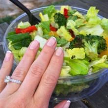 Gluten-free salad from Jetties