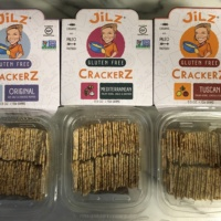 Gluten-free and grain free crackers from Jilz Crackerz
