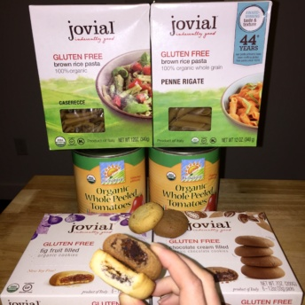 Gluten-free pasta and cookies from Jovial