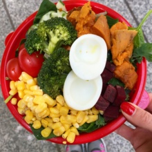 Gluten-free salad from Just Salad