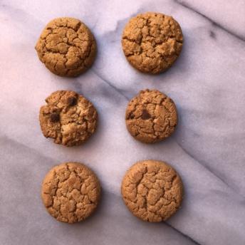 Three flavors of gluten-free cookies by Partake Foods
