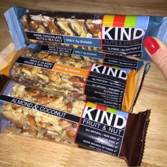 Gluten-free fruit & nut bars from KIND Snacks