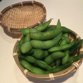 Gluten-free edamame from Katsuya