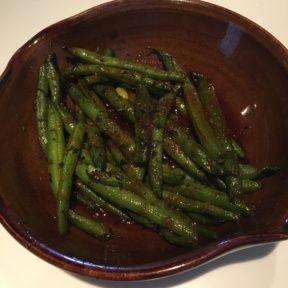Gluten-free string beans from Katsuya