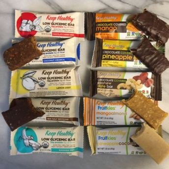 Gluten-free bars from Keep Healthy
