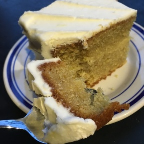 Gluten-free vanilla cake from Kim and Jake's Cakes