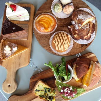 Gluten-free pastry and breakfast spread from Kirari West Bakery