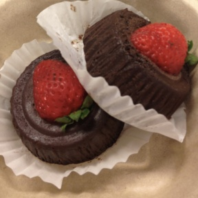 Gluten-free flourless chocolate cakes from Kitchenette
