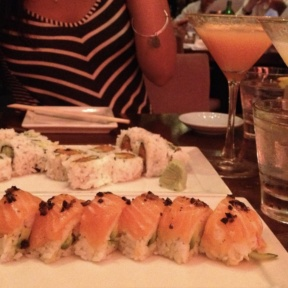 Gluten-free sushi rolls from Koi