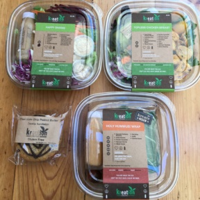 Gluten-free lunch packages from Kreation Organic Kafe