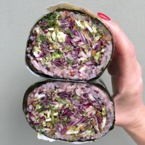 Gluten-free veggie kyerito from Kye's