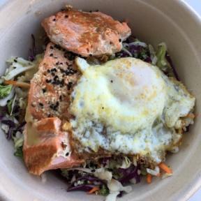 Gluten-free salmon salad from Kye's