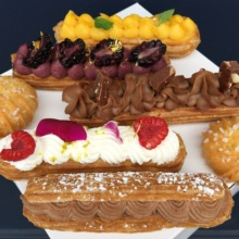 5 Gluten-free eclairs from La Chouquette
