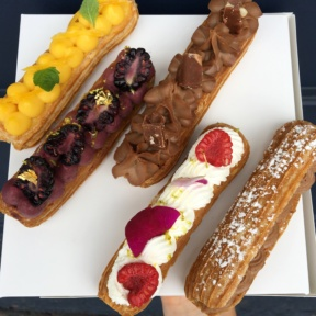 Amazing Gluten-free eclairs from La Chouquette