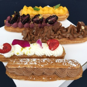 Gluten-free eclairs from La Chouquette