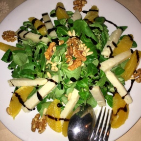 Gluten-free salad from La Giostra
