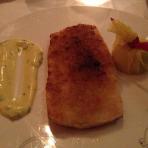 Gluten-free dover sole from Le Cirque