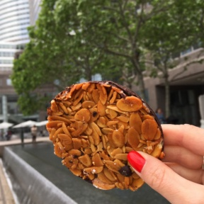 Gluten-free cookie from Le District at Brookfield Place