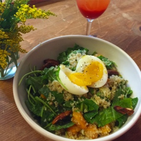 Gluten-free egg bowl from Le Pain Quotidien
