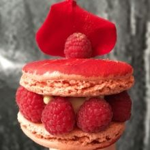Gluten-free large macaron from Le Petit Paris