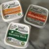 Gluten-free vegan cream cheese spreads from Leaf Cuisine