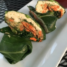 Gluten-free wraps from Leaf Vegetarian