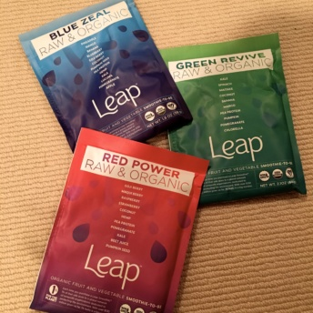 Gluten-free raw & organic powders from Leap