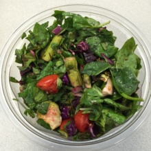 Gluten-free salad from Lenwich