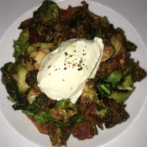 Gluten-free brussels sprouts from Lido