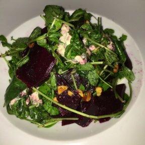 Gluten-free beet salad from Lido