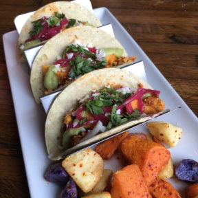 Gluten-free tacos from Linger