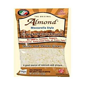 Gluten free and dairy free almond cheese by Lisanatti Foods