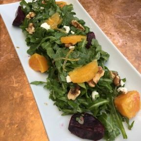 Gluten-free beet salad from Little Next Door