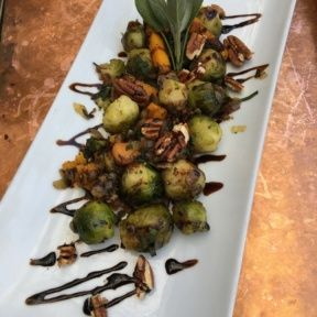 Gluten-free brussels sprouts from Little Next Door