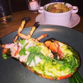 Gluten-free lobster from Little Park