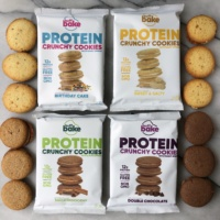 Crunchy protein cookies by Buff Bake