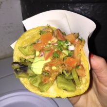 Gluten-free taco from Los Tacos No. 1