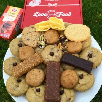 Gluten free cookies in box by Love With Food
