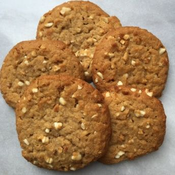 Gluten-free peanut butter cookies from Lucky Spoon Bakery