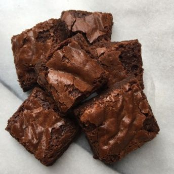 Gluten-free brownies from Lucky Spoon Bakery