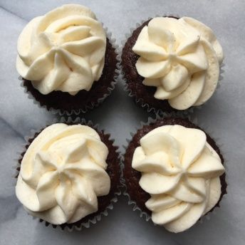 Gluten-free cupcakes from Lucky Spoon Bakery