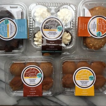 Gluten-free products from Lucky Spoon Bakery