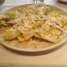 Gluten-free salad from Lupa