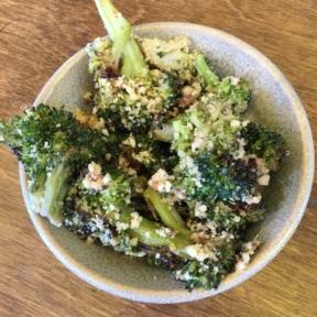 Gluten-free broccoli from M Cafe