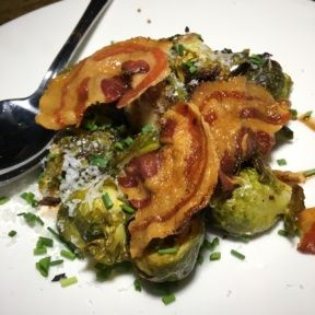 Gluten-free brussels sprouts from M Street Kitchen