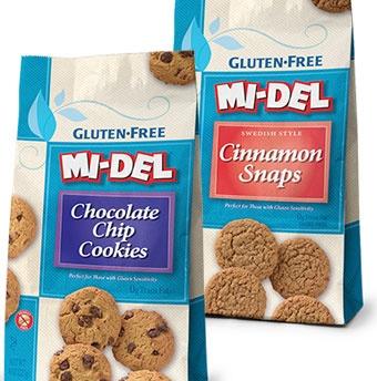 Gluten-free cookies by MI-DEL