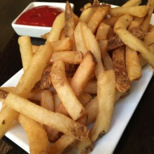 Gluten-free fries from Madison Square Tavern
