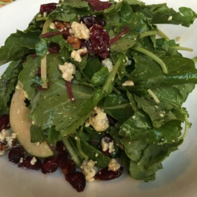 Gluten-free salad with cranberries from Madison Square Tavern
